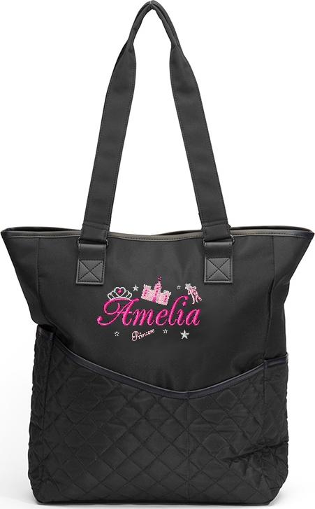 Personalized Diaper Bag Princess Messenger