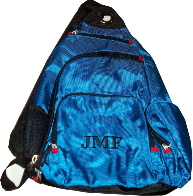 Personalized Large Sling Backpack (1 strap)