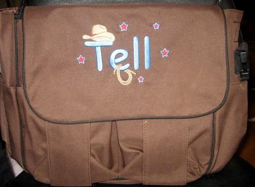 Cowboy Diaper Bags : Cowboy western diaper bag personalized